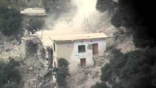 A-10 Gun Run In Korengal Valley