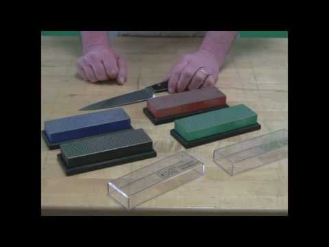 Video of DMT® Kitchen Knife Sharpening