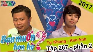 Bất ngờ với chàng trai không ấn nút chọn cô gái dễ thương - cá tính | Tự Khang - Kim Anh | BMHH 267