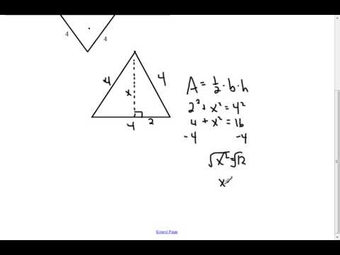 how to find the surface of a triangular prism