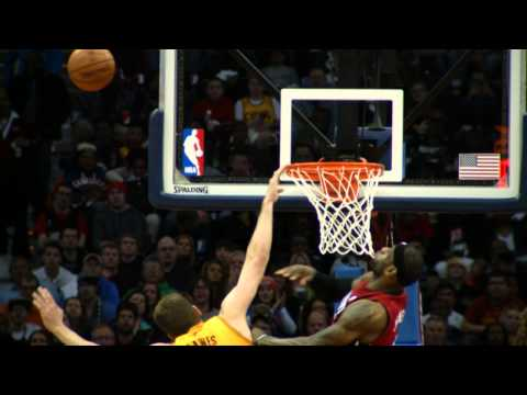 LeBron Deletes the Spencer Hawes Dunk!