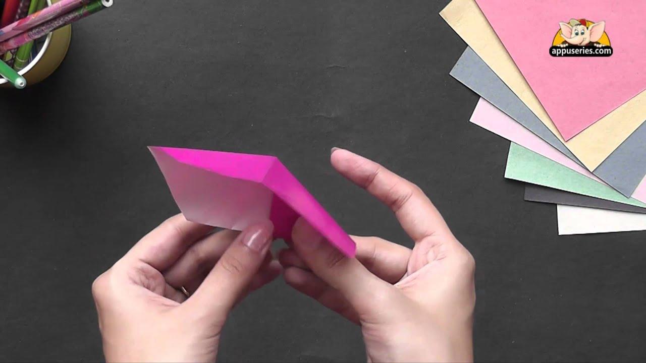Origami Make An Easy Bookmark Youtube