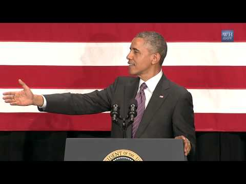Obama: Congress Thinks Climate Change Is A Liberal Plot - Full Speech