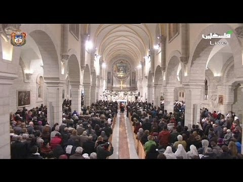 Bethlehem celebrates Midnight Mass