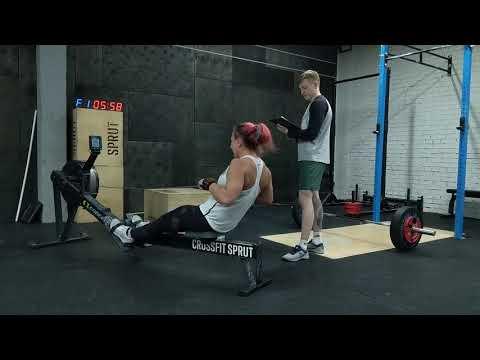 CrossFit Lowlands Throwdown 19.1 Natalia Stashkevich 162 reps