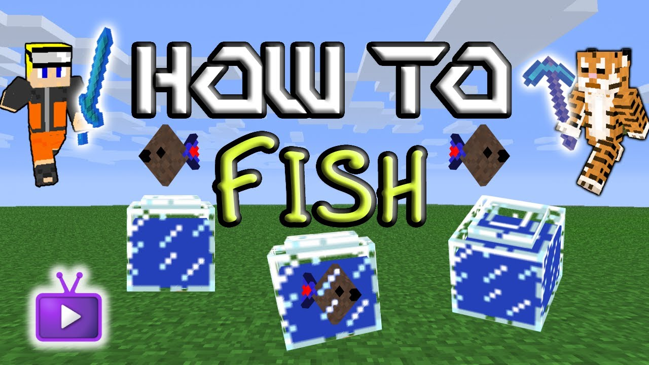 how to find fish in minecraft