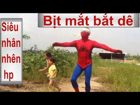 Trò chơi dân gian | Bịt mắt bắt dê | Việt Nam | Cùng siêu nhân người nhện