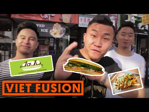 FUNG BROS FOOD: Modern Vietnamese Sandwiches (NYC Banh Mi - JoJu)