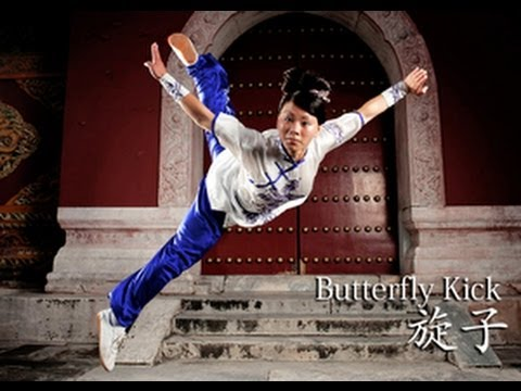 WUSHU TUTORIAL: Butterfly Kick