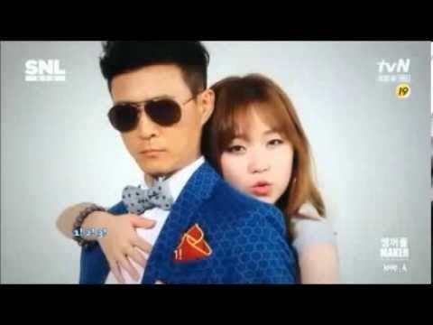 [ENG] TroubleMaker 'TroubleMaker' Parody @ SNL Korea