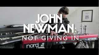 John Newman 'Not Giving In' (Live)