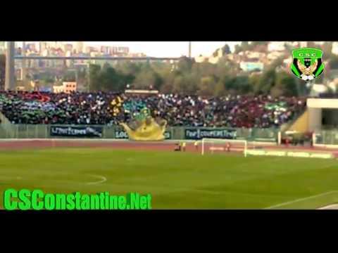 Coupe d'Algérie CSC 2 - MCA 1 : Ambiance au stade + Tifos (1)