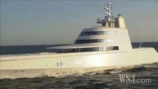 Russian Billionaires $300 Million Yacht ..