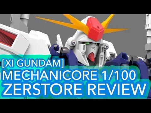 Mechanicore 1/100 MAS-15 Zerstore [Xi Gundam] Review + New WIP Details!