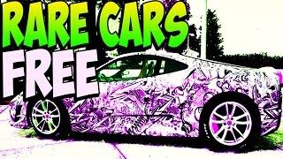 GTA 5 Online FREE RARE CARS After Patch 1.17 Secret