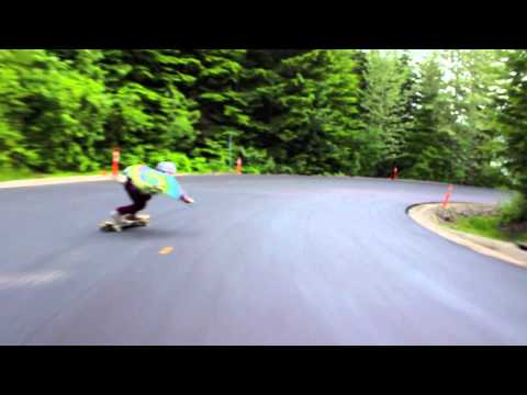 Ben & Vinz on a brand new paved Whistiti Run !