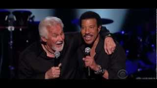 Lionel Richie And Kenny Rogers  Lady