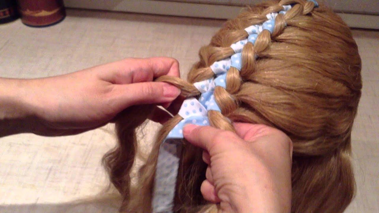 Косы в 4 пряди пошаговое плетение фото