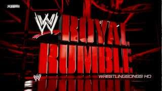 "2013: WWE Royal Rumble Theme Song ""What Makes A Good Man"