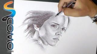 Dibujo - Retrato de Hermione de Harry Potter
