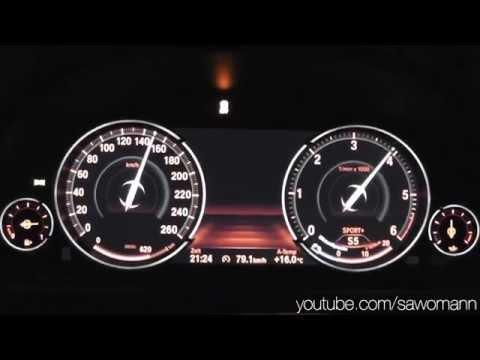 2014 BMW 535d xDrive Touring 313 HP 0-100 km/h & 0-100 mph Acceleration GPS
