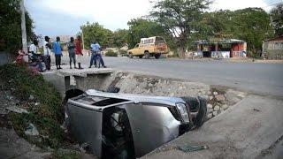 مقتل 38 شخصا دهسا في هايتي اثناء محاولة سائق شاحنة الفرار |