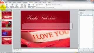 Audio In Microsoft PowerPoint 2010 How To Play Music