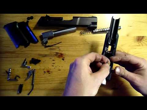 Ruger p90 complete re-assembly part 1