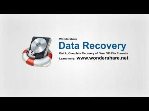 Wondershare Data Recovery - Recover documents, emails, photos, videos