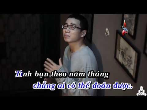 Karaoke Song Ben Khoang Lang - Karik