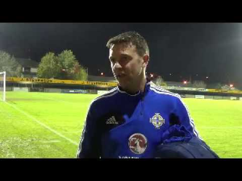 Stephen Craigan Post Match Reaction U17 V Latvia