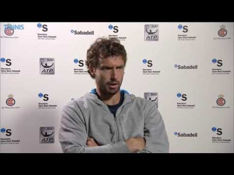 Barcelona 2014 Friday Interview Gulbis