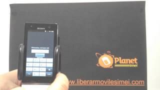 Como Liberar Sony Xperia U