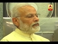 Modi prays at Deekshabhoomi in Nagpur; Ambedkar Jayanthi..