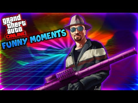 GTA 5 Online Funny Moments - Faggio Sport Super Speed & Hilarious Running Animation!