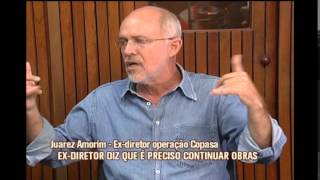Ex-diretor da Copasa diz que obras para evitar colapso no abastecimento de �gua s�o prioridades