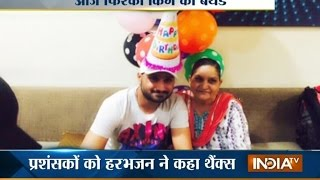 Harbhajan Singh His birthday Celebrates