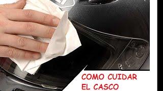 Cuidar el casco de tu moto