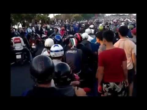 Đua Xe gây cản trỡ giao thông nghiêm trọng 2/9/2014 tại Vũng Tàu
