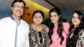 Kriti Sanon celebrates birthday with family