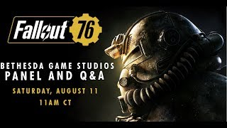 QuakeCon 2018 - Fallout 76 and Fan Q&A