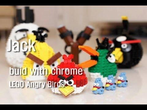 Build with chrome - LEGO Angry Birds 레고 앵그리 버드 (블루버드) 만드는 방법