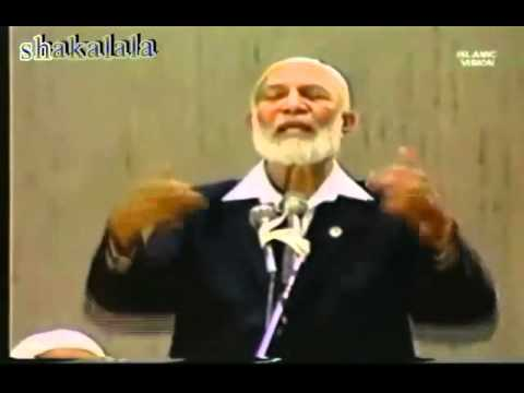 Is Israel set up for destruction ?-- Ahmed Deedat VS Ex-Congressman Paul Findley