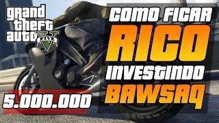 (PS3)GTA V DICAS COMO GANHAR 5.000.000,00 INVESTINDO