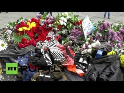 Ukraine: Mourning continues for Odessa blaze victims