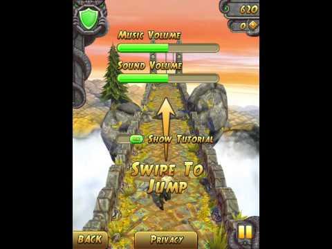 Trucco Temple Run 2 per IPhone,IPad e IPod,