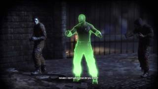 Batman Arkham City: Riddler Side Mission(Skip Middle If