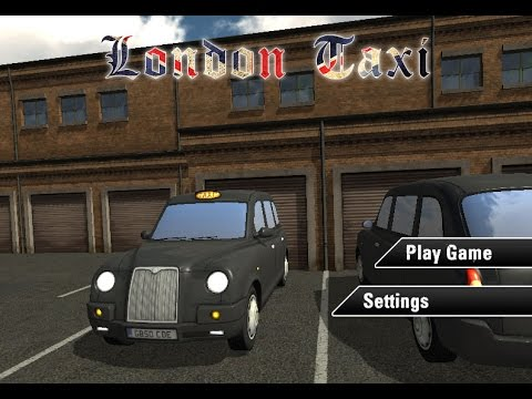 London Taxi License -  Not Taxi Park Games -  Best New Car Parking Games