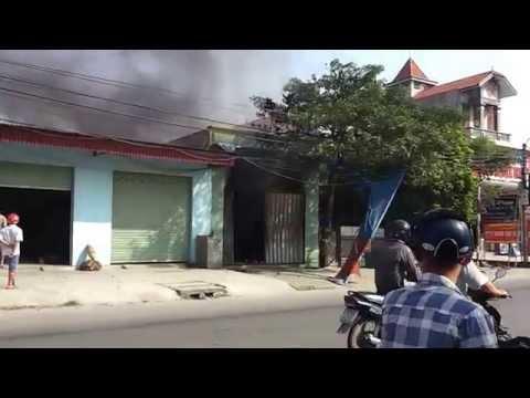 Cháy nhà ( 8h30p 7/10/2014 - Ngũ Lão, Thủy Nguyên, Hải Phòng )
