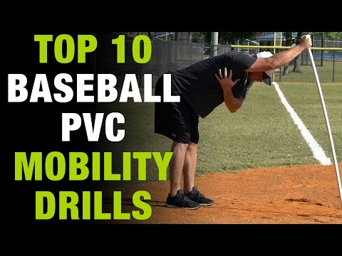 Top 10 PVC Mobility Drills ALL Baseball Players MUST Be Doing!  [Top 10 Thursday Ep.3]